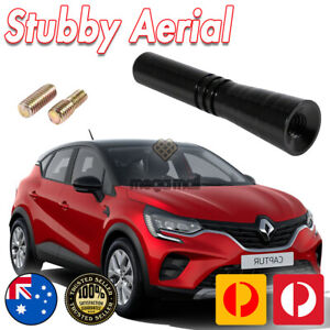 Antenna / Aerial Stubby Bee Sting for Renault Captur - Black 5CM
