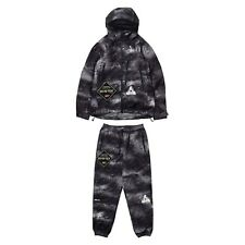 Palace GORE-TEX Palex Black Rain: XL Jacket & Pants SOLD AS SET