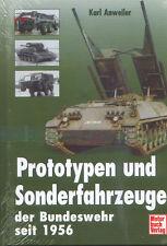 = Prototypen und Sonderfahrzeuge der Bundeswehr seit 1956 =
