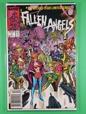 Fallen Angels #7 (Marvel, October 1987)