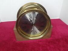 Vintage Waterbury Ships Clock.No Reserve