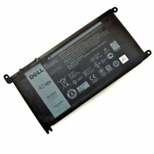 WDXOR Genuine  Battery For Dell Latitude 13 3379 Vostro 14 5468 42WH