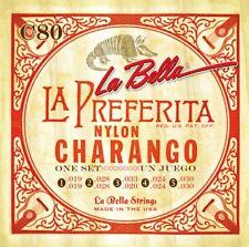 Charango Cuerdas String Set - La Bella 5 double String Set Nylon