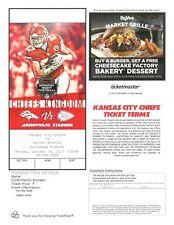 Denver Broncos @ Kansas City Chiefs 10-30-2017 e - ticket PDF Travis Kelce photo