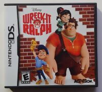 Wreck-It Ralph - Nintendo DS DS Lite 3DS 2DS Game Tested Works !