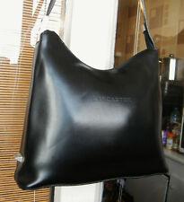 sac à main en cuir noir LANCASTER pour femme