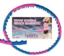 Hula Hoop Massage Reifen 1,5 kg Magneten leicht abnemmen Bauchweg 6008