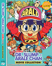 DVD ANIME DR.SLUMP ARALE CHAN MOVIE COLLECTION Region All + FREE SHIP