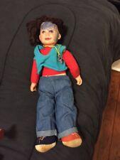 Vintage Punky Brewster Plush Doll by Galoob 1984 TV Series NBC -Soleil Moon Frye