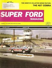 SUPER FORD 1980 JAN - FIRST ISSUE, THUNDERBOLT, MEGASTAR, TUAREG, COBRAS