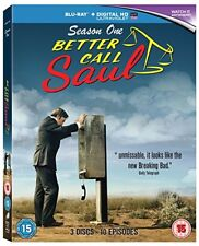 Better Call Saul – Season 1 [Blu-ray] [Region Free] [DVD][Region 2]