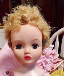 Vintage Uneeda Dolli-Kin Very Posable Hard Plastic & Vinyl Doll
