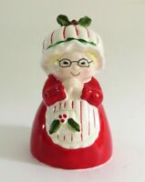Vintage Mrs Claus Enesco Christmas Figurine Holiday Decor