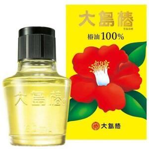 Oshima Tsubaki Pure Japanese 100% Camellia Oil 60ml Made in Japan