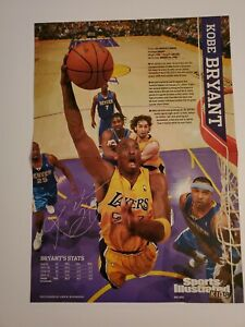 2010 Kobe Bryant Sports Illustrated For Kids Poster 15x11 Los Angeles Lakers