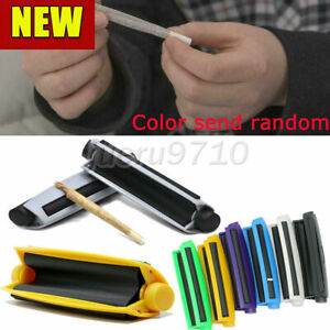 UK Portable Cigarette Rolling Machine 110mm Joint Cone Plastic Maker Roller Tool