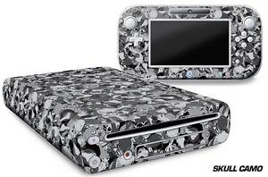 Skin Decal Wrap for Nintendo Wii U Gaming Console & Controller Sticker SKLL CAMO