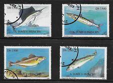 Sao Tome and Principe 1996 Fish CTO (88)