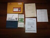 1966-1967 Fishburne Military School Waynesboro Virginia Application & Book Lot