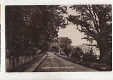Highgate Road Forest Row Sussex Vintage RP Postcard 555b