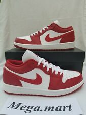 Nike Air Jordan 1 Low Gym Red 553558-611 Size 10 DS Brand New Bred - SHIPS TODAY