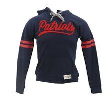 New England Patriots Official NFL Teen Juniors Girls Size Hooded Sweatshirt New