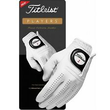 Titleist Players Leather Golf Glove (choose ) Large 3 Gloves
