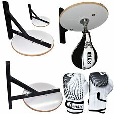 Onex Real Leather Boxing Speed Ball White Platform Set Boxing Ball Boxing Set