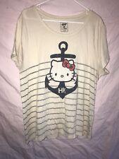 Hello Kitty Woman's Anchor Shirt Size XXL