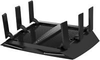NEW Netgear Nighthawk X6S AC3600 Tri-Band WiFi Router MU-MIMO Parental Control