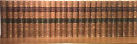 LEATHER Set;SIR WALTER SCOTT,WAVERLY NOVELS!Complete Original(1871!)ANTIQUARIAN!