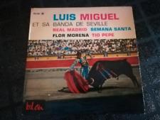45 tours -  Luis Miguel et sa banda de seville - Real Madrid - semana santa