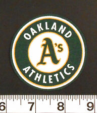 FREE SHIPPING MLB Oakland A's Athletics Iron On Fabric Applique Patch Logo DIY