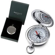 Dalvey Stainless Steel Vintage Compass,No Battery, Compass in Box Gift Box