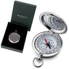 DALVEY Edelstahl Vintage Kompass, keine Batterie, Compass in Box Geschenkkarton