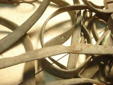 Antique Horse Harness Pieces Straps Withers Barn Decor Old Crusty Leather