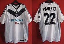 Maillot girondins de bordeaux Adidas Pauleta Siemens n°22 M6 Vintage- XL
