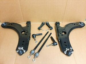 FRONT WISHBONES BALL JOINTS & DROP LINKS & TRACK ROD ENDS FOR AUDI A3 1996-2003