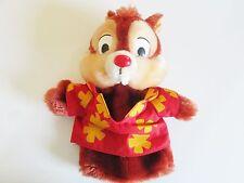 "Vintage Hand Puppet CHIP & DALE'S Rescue Rangers Disney Chipmunks Plush 11"""