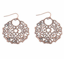 Alloy Earrings For Lady Dw-Eh-Hqe590 Bohemian Circle Hollow Simple New Elegant