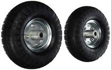 """(2) 10"""" AIR TIRES Wheels for Handtruck Dolly Go Kart Wagon Hand Truck FREE SHIP"""