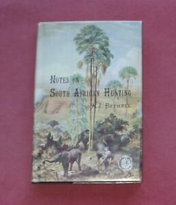 BIG GAME - 1880s SOUTH AFRICA HUNTING BECHUANALAND BORDER POLICE KHAMA BETHELL