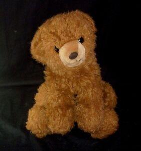 """17"""" VINTAGE MARY MEYER BROWN FLOPPY CUB TEDDY BEAR STUFFED ANIMAL PLUSH TOY"""