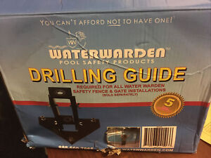 Water Warden Drill Guide to Install Pool Safety Fence WWDG
