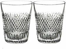 Waterford Diamond Line Shot Glass Set of 2 Bad Box*