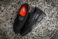 UK Size 7 Nike Air Max 90 Ultra BR Mens Trainers 'BLACK OUT' EU 41 (725222 010)
