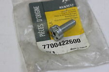 Neu Original Renault Felgenschloß Schraube Radschraube Bolt Lock 7700422600