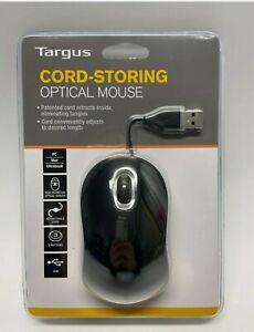 Targus USB Cord-Storing Optical Mouse - AMU76EU