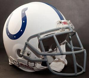 REGGIE WAYNE Edition INDIANAPOLIS COLTS Riddell AUTHENTIC Football Helmet NFL