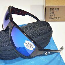Costa Del Mar Double Haul Polarized Sunglasses - Tortoise/Blue Mirror Glass 580G